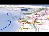 3D-видео катастрофы Ил-20 у побережья Сирии