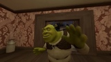 Shrek gets spooked