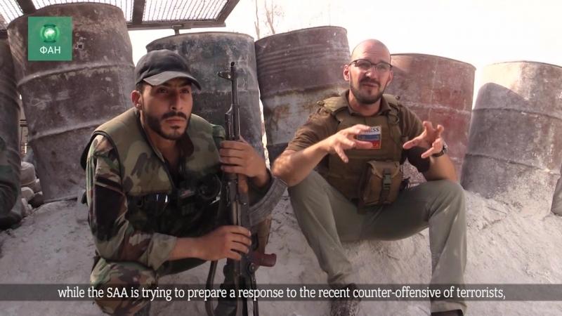 Корреспонденты ФАН сняли лучший репортаж 2017 года из зоны боевых действий в Сирии