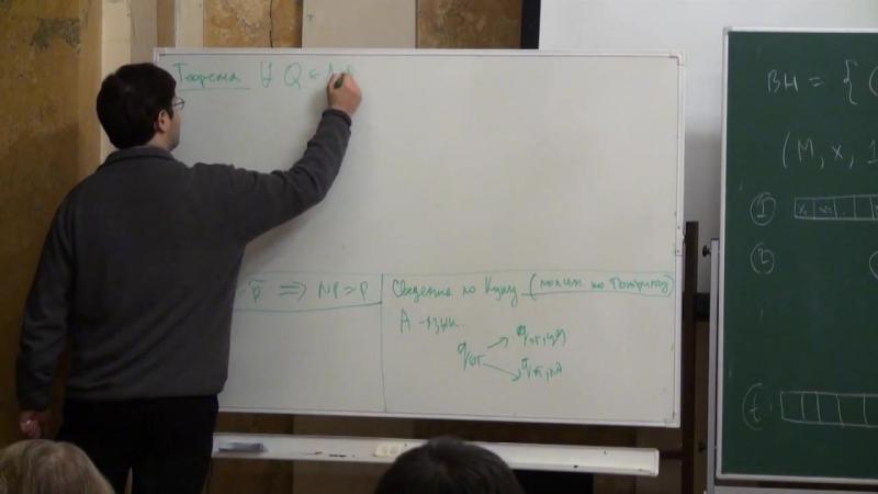Лекция 7 - Основы вычислимости и теории сложности - Дмитрий Ицыксон - CSC - Лекториум