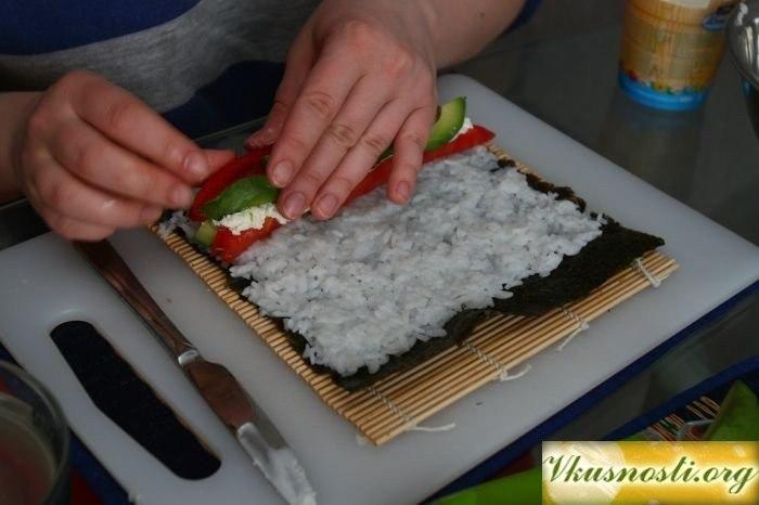 Суши своими руками в домашних условиях с пошаговым рецептом