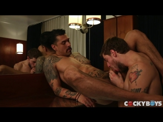Big dicked studs justin brody & boomer banks