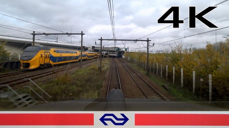 4K CABVIEW HOLLAND Hoofddorp Opstel - Amersfoort ICM 11nov 2018