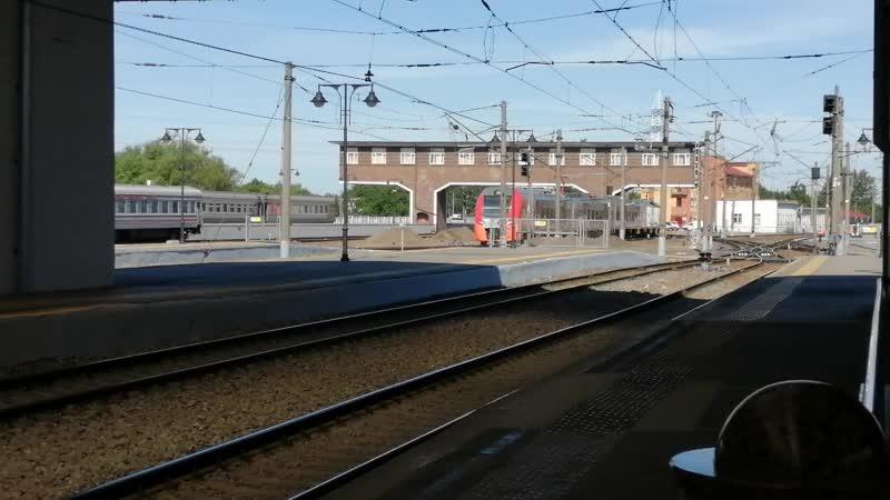 Прибытие Ласточки на Южный вокзал