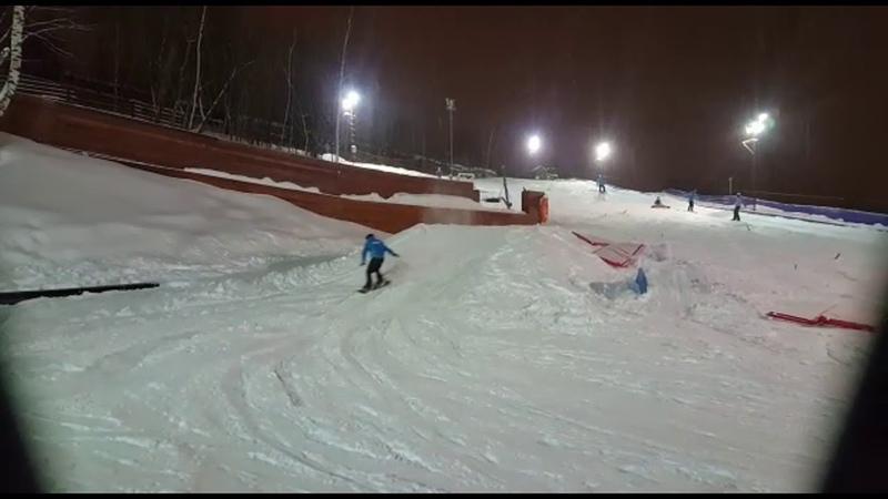 Bs 540 cork на сноуборде