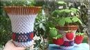 3D Origami Flower Pot V2 Tutorial | DIY Paper Flower Pot Home Decoration