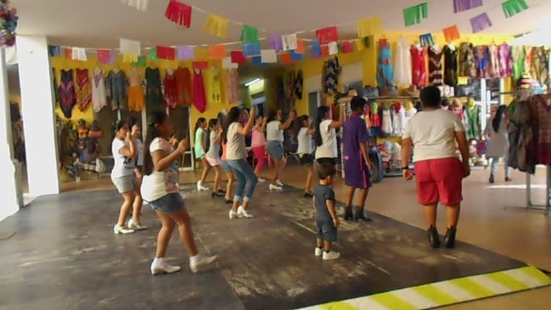 Danza en Cozumel