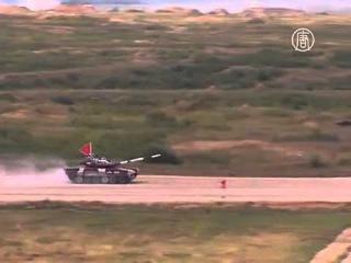 В России стартовал Чемпионат по танковому биатлону (новости)
