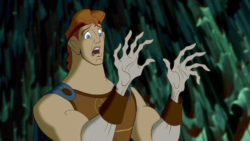 Геркулес спасает Мег из загробного царства Аида Геркулес отрывок из фильма