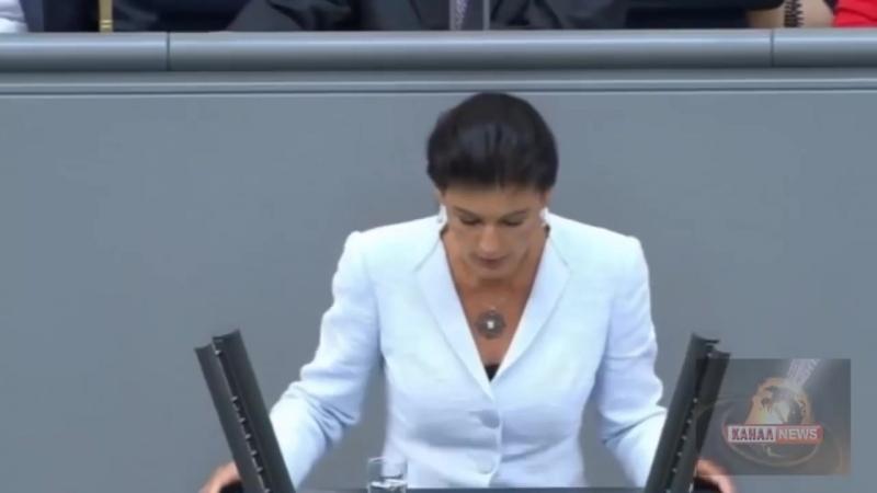 Сара Вагенкнехт_ Вы боитесь, что Путин захватит Германию На сколько больным надо быть