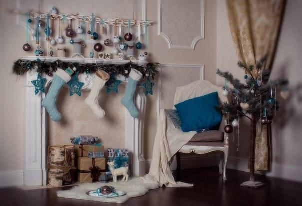 Декорация для новогодней фотосессии своими руками