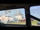 Удар молнии в дом спровоцировал возгорание