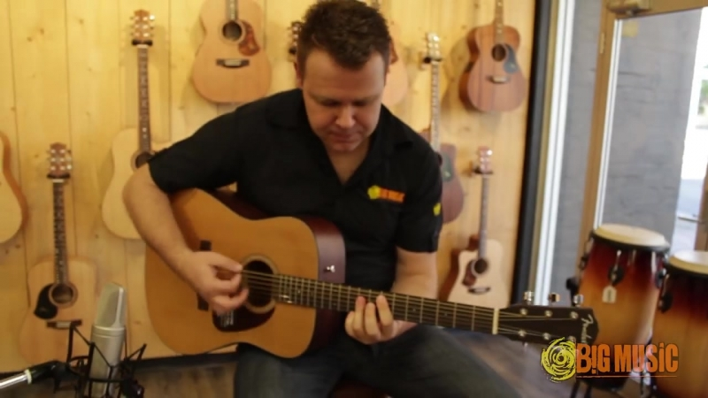 Big Music Australia Fender CF 140 v Fender CD 140S Cedar v Epiphone Pro 1 Plus Product Shootout