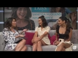 Vanessa Hudgens Nina Dobrev Facebook Live on Despierta America