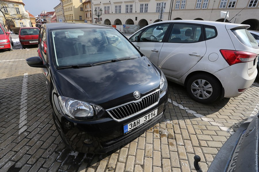 Чехия автомобиль Skoda CitiGo