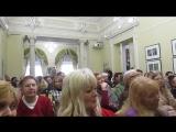 Встреча с артистами Владимиром Дяденистовым и Ксенией Зуден. 03.04. 2018 г. ф-м 9