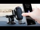 Автомобильная беспроводная зарядка держатель Baseus 2 in1 Qi Wireless charger