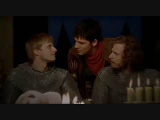 Merlin Vine | Мерлин | Arthur Pendragon | Merthur | Arlin | Colin Morgan | Bradley James