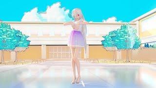 [MMD 4K] 18040 TDA Daily skirt Haku AOA - Miniskirt X2.Ver [DL][RAY 1.5.2]