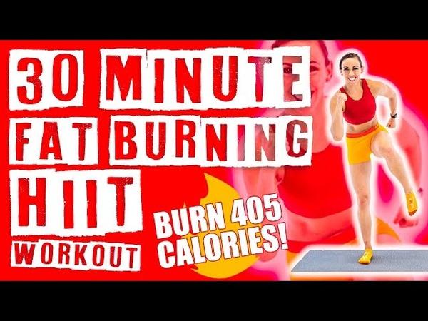 30 Minute Fat Burning HIIT Workout 🔥Burn 405 Calories!🔥