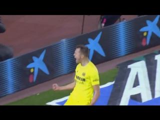 Барселона  Вильярреал: Гол Черышева (2015)