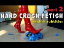 Hard crush fetish in Pointy Luxury High Heels Boots Gianmarco Lorenzi See my EBAY Part 2