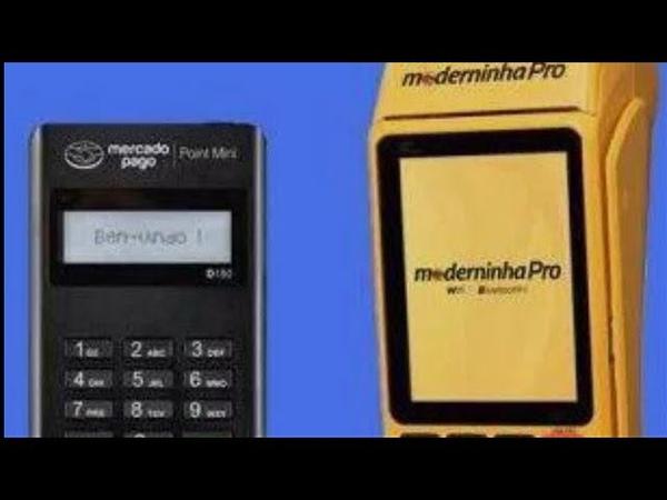 Moderninha Pro Vs Mercado Pago Point mini - Qual Melhor Maquininha de Cartão de Crédito