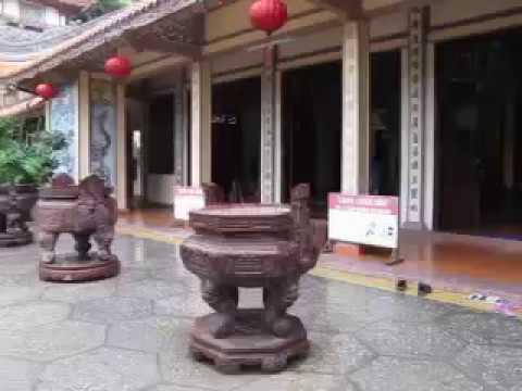 183 Вьетнам Нячанг прогулки по городу Пагода Лонг Сон или Шон Vietnam Nha Trang city Long Son Pagoda