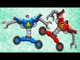 DRIVE AHEAD #12 БИТВА за НОВЫЙ ГОД Мульт Игра для детей про сражения ТАЧЕК Разбей голов ...