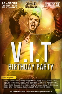 26.04 / BURLESQUE / V.I.T B-DAY PARTY