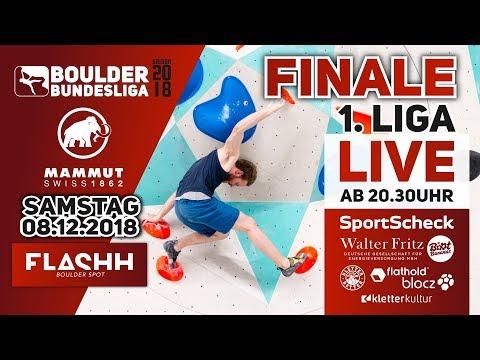 Finale – Boulder Bundesliga 2018 – 1.Liga Damen Herren