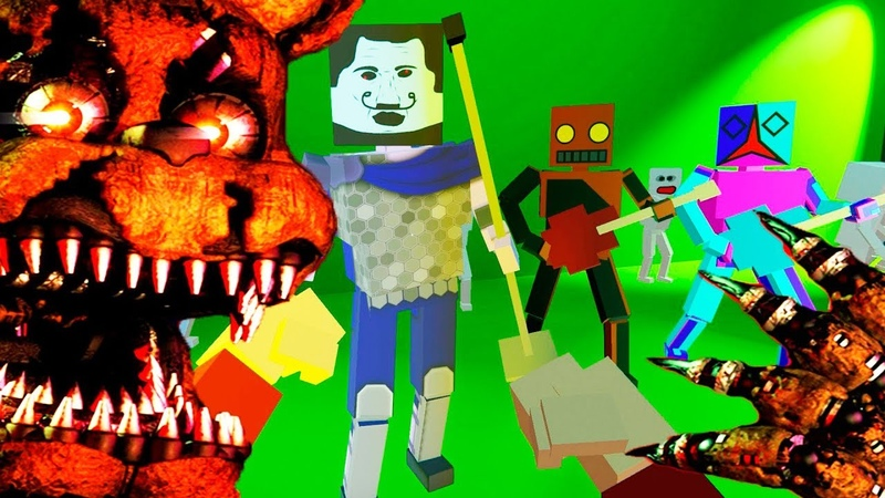 Five Nights at Freddy's ► Paint the Town Red ОБЗОР КАРТ
