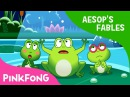 The Frogs Who Desired a King | Aesop's Fables | Pinkfong Story Time for Children