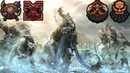 Ogre Kingdoms and Daemons of Chaos vs. Chaos Dwarfs 2v2 - Call of Warhammer BotET Gameplay