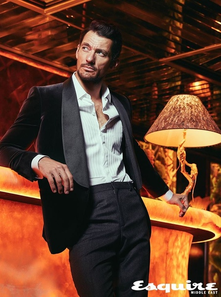 David Gandy Esquire Middle East, 2018