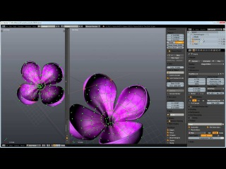 Modeling and Texuring Flower in Blender 1