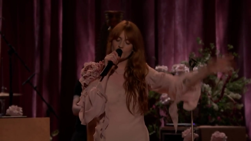 Florence And The Machine - Hunger [Live @ The Tonight Show]