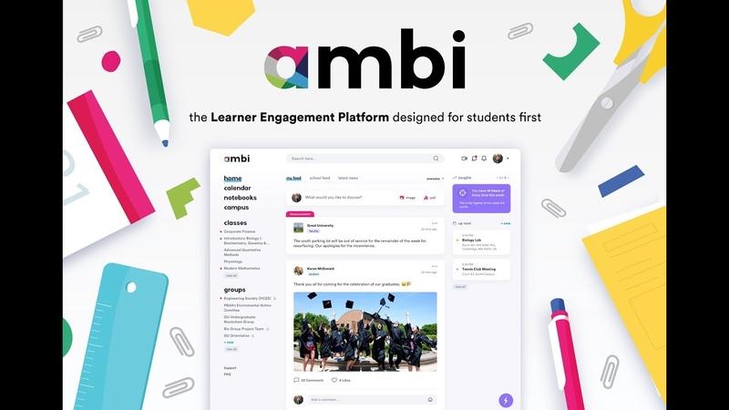 Ambi: the Learner Engagement Platform designed for students first