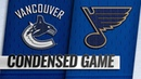 12/09/18 Condensed Game Canucks @ Blues