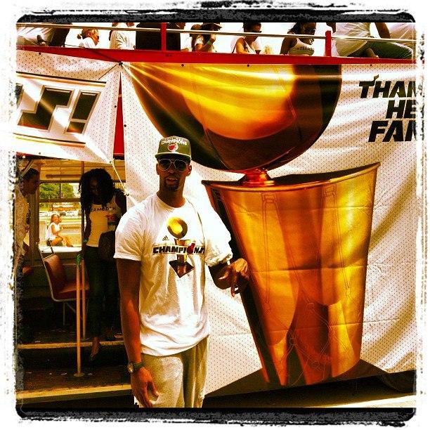 Звезда на параде НБА 2012