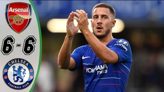 Arsenal vs Chelsea 6-6 - Highlights & Goals Resumen & Goles (Last Matches) HD