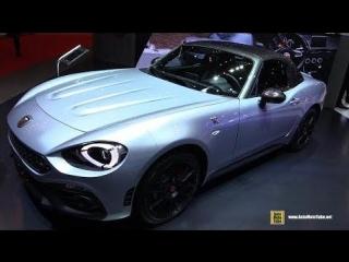 2018 Fiat Abarth 124 GT - Exterior and Interior Walkaround - 2018 Geneva Motor Show