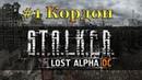 S.T.A.L.K.E.R. - Lost Alpha DC, №1 кордон