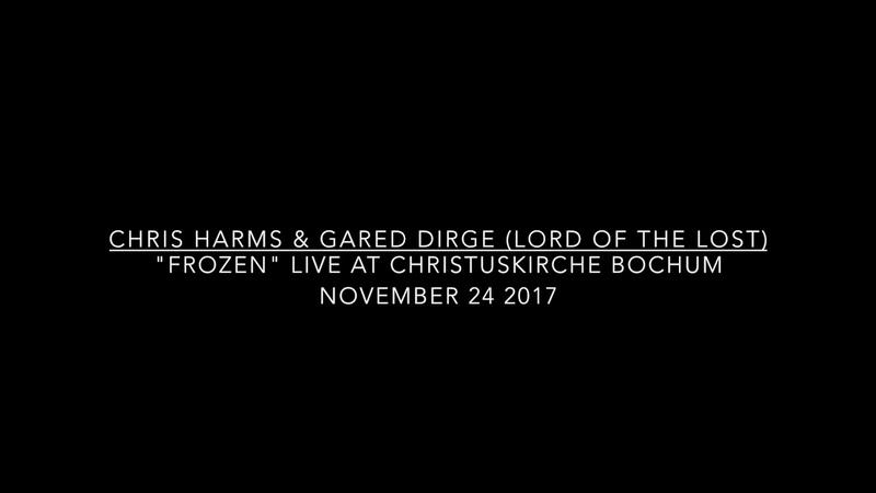 CHRIS HARMS GARED DIRGE - FROZEN