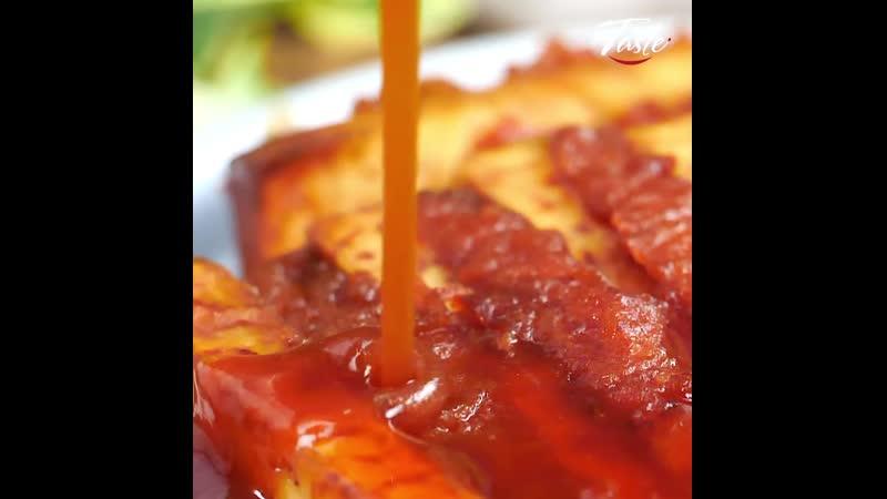 Рецепт свиных ребрышек в кисло-сладком соусе
