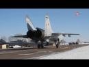Модернизированные #МиГ31БМ поступили в ЦВО #АрмияРоссии