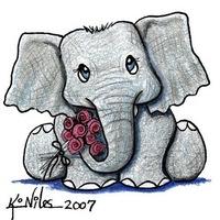 Funny Elefant