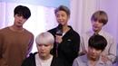 Taekook/Вигуки Анализ BTS I Backstage at the AMAs 2017