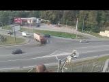 ДТП на Транспортная/Яна Фабрициуса, Сочи, 12 октября