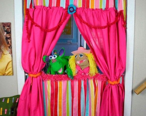 Сделать своими руками сцену для кукольного театра